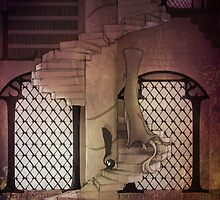 Typgraphic Stairway (Color-Edition) by Eleanor Appreciates