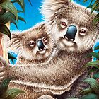 Koala and Baby by Lorna Mulligan