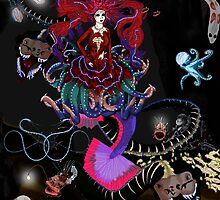 Deep Sea Siren by peachfly