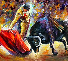 CORRIDA - DANGEROUS by Leonid  Afremov