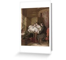 The Death of Rochester Greeting Card
