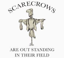 Scarecrows Are Out Standing In Their Field by BrightDesign