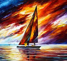 SET SAIL by Leonid  Afremov