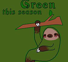 I'm Going Green This Season by zerojigoku