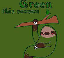 I'm Going Green This Season by zerojigoku