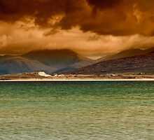 West Harris to North Harris by English Landscape Prints