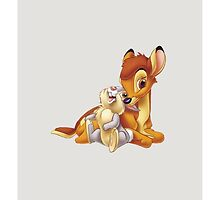 Disney Bambi & Thumper Friends by N1K0VE