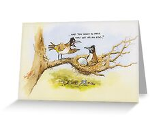 Pass that off as an egg? Greeting Card