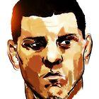 Nick Diaz by konart