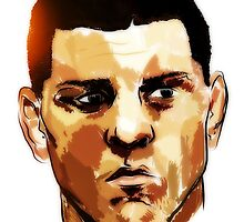 Nick Diaz by konart