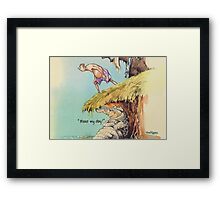 Make my day! Framed Print