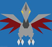 227 Skarmory by Gefemon2