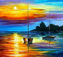 FLORIDA SUNSET by Leonid  Afremov