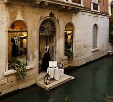 Shopping for a Black Dress in Venice, Italy by Georgia Mizuleva