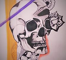 Skull Design by ButtonBellLove