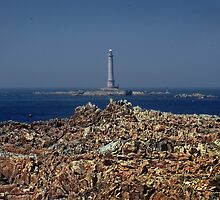 The Goury Lighthouse by cclaude