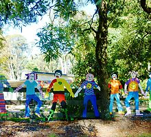 Fence with a Difference - Bullarto State School, Vic. by EdsMum