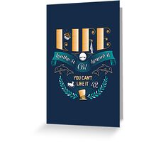 Marvin On Life Greeting Card