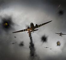 Dakotas at Arnhem by Gary Eason + Flight Artworks