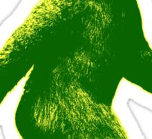 Bigfoot WAT Green  Sticker