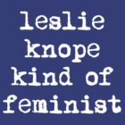 I'm a Leslie Knope kind of Feminist by rydrahuang