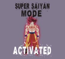 Super Saiyan Mode Goku Super Saiyan God by BadrHoussni