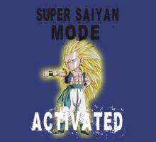 Super Saiyan Mode Gotenks Super Saiyan 3 by BadrHoussni