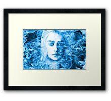Daenerys Targaryen Bride of Fire Mother of Dragons Framed Print