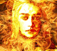 Daenerys Targaryen, Bride of Fire, Mother of Dragons by D77TheDigArtisT