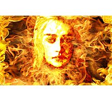 Daenerys Targaryen, Bride of Fire, Mother of Dragons Photographic Print