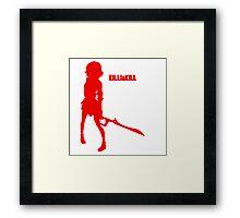 KILLlaKILL Ryuko Framed Print