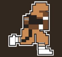 Nintendo Tecmo Bowl Cleveland Browns B by jackandcharlie