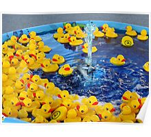 Little Duckies Poster