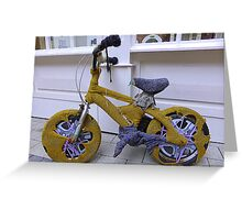 Knit Your Own Bicycle Warmer Greeting Card