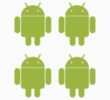 Android Robot ×4 by Google Android