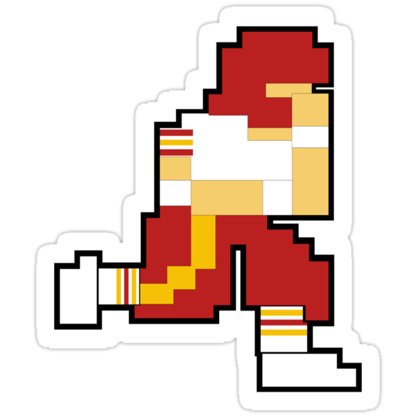 Nintendo Tecmo Bowl Washington Redskins by jackandcharlie