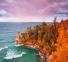 Pictured Rocks by Sarah Van Geest