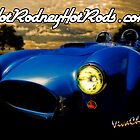 Hot Rodney Hot Rods Cobra Poster by ChasSinklier