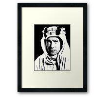 Peter O'Toole Portrait Framed Print