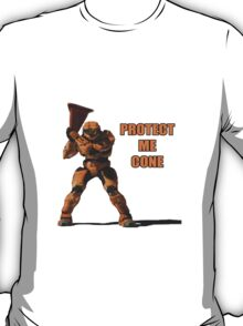Red vs Blue - Protect Me Cone T-Shirt