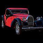 1937 Bugatti Type 57 Atalante Coupe II by DaveKoontz