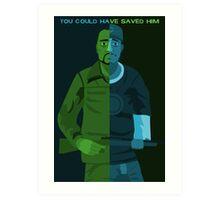 Walking Dead - You Could Have Saved Him Art Print