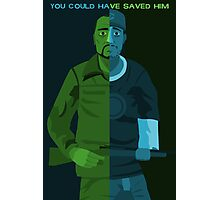 Walking Dead - You Could Have Saved Him Photographic Print