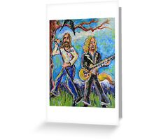 My Morning Song (The Black Crowes) Greeting Card