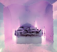 Honeymoon Suite, Sorrisniva Ice Hotel, Norway by KarenMcDonald