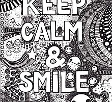 keep calm and smile by BeckaJane