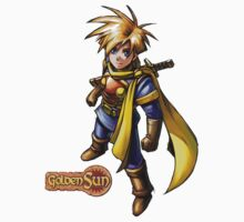 Golden Sun Isaac by theguyontheleft