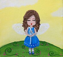 fairy in blue by BeckaJane