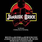 Jurassic Brick - Movie Poster by Matt Teleha