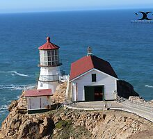 Point Reyes Lighthouse Ca by 2Canons